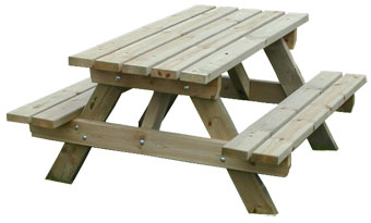 Mobilier ext rieur pour collectivit s sas sodifrex le for Table en bois et banc